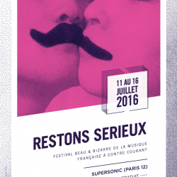 RESTONS SERIEUX (2016)
